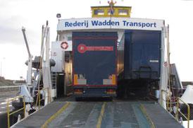 Afbeelding De Boer Transport op boot.